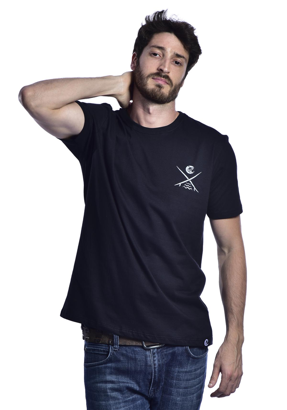Camiseta Red Nose Surf Club  - Preto P