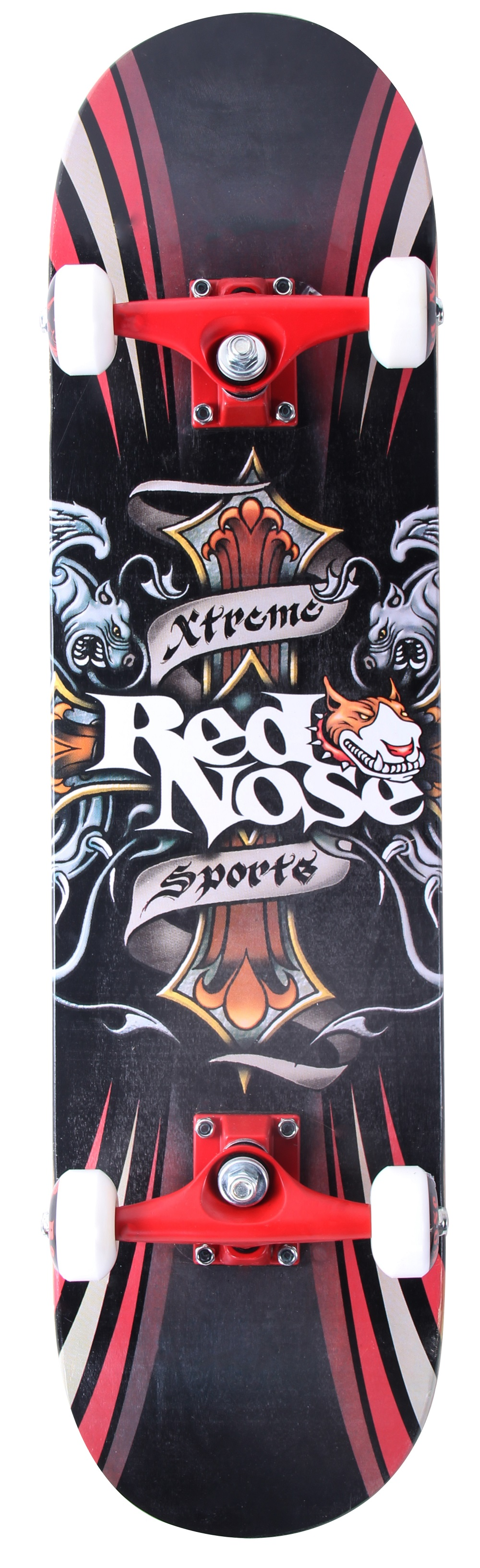 Skate Skateboard Red Nose Xtreme