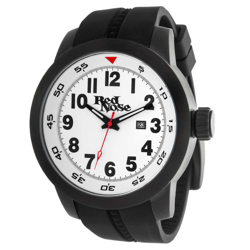 Relógio Red Nose Kite Surf Preto e branco