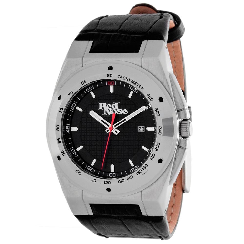 Relógio Red Nose Canyoning Prata e preto