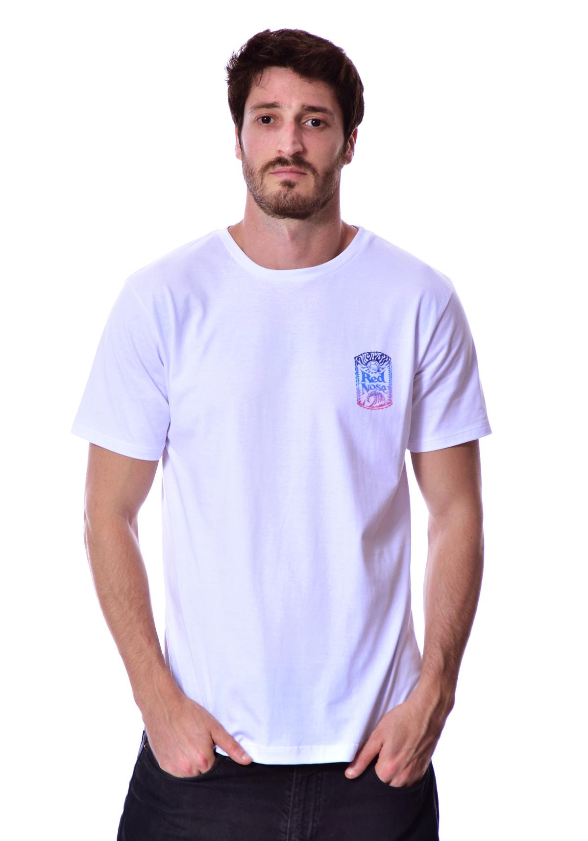 Camiseta Red Nose Surf Old - Branco P