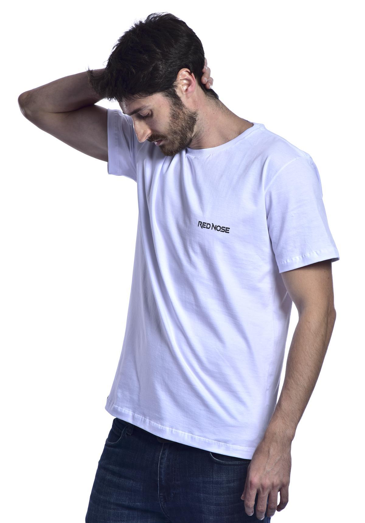 Camiseta Red Nose Quilha - Branco P