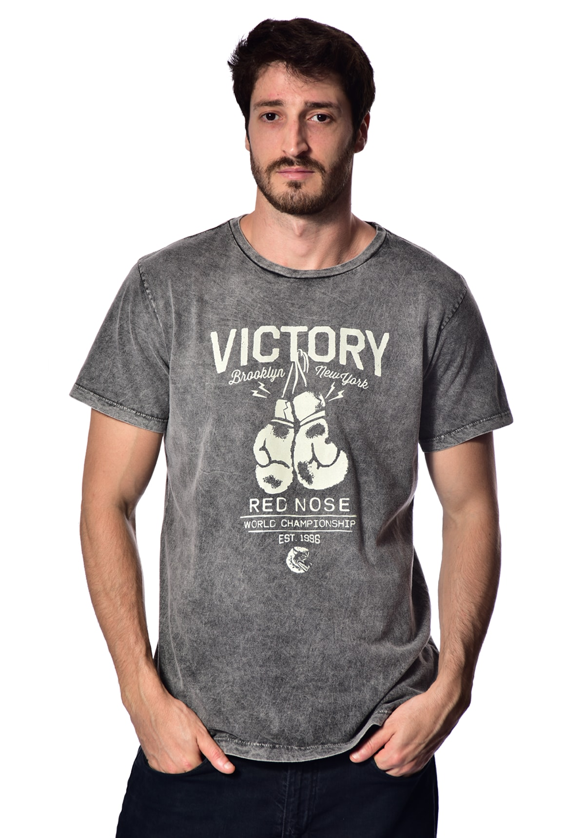 Camiseta Red Nose Victory - Chumbo P