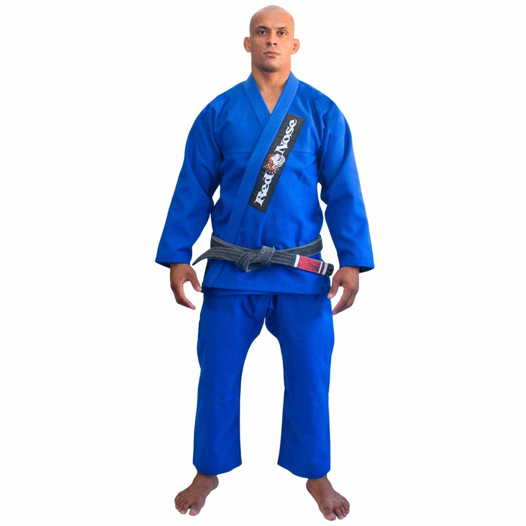 Kimono Jiu-Jitsu Red Nose Beginner Azul A0