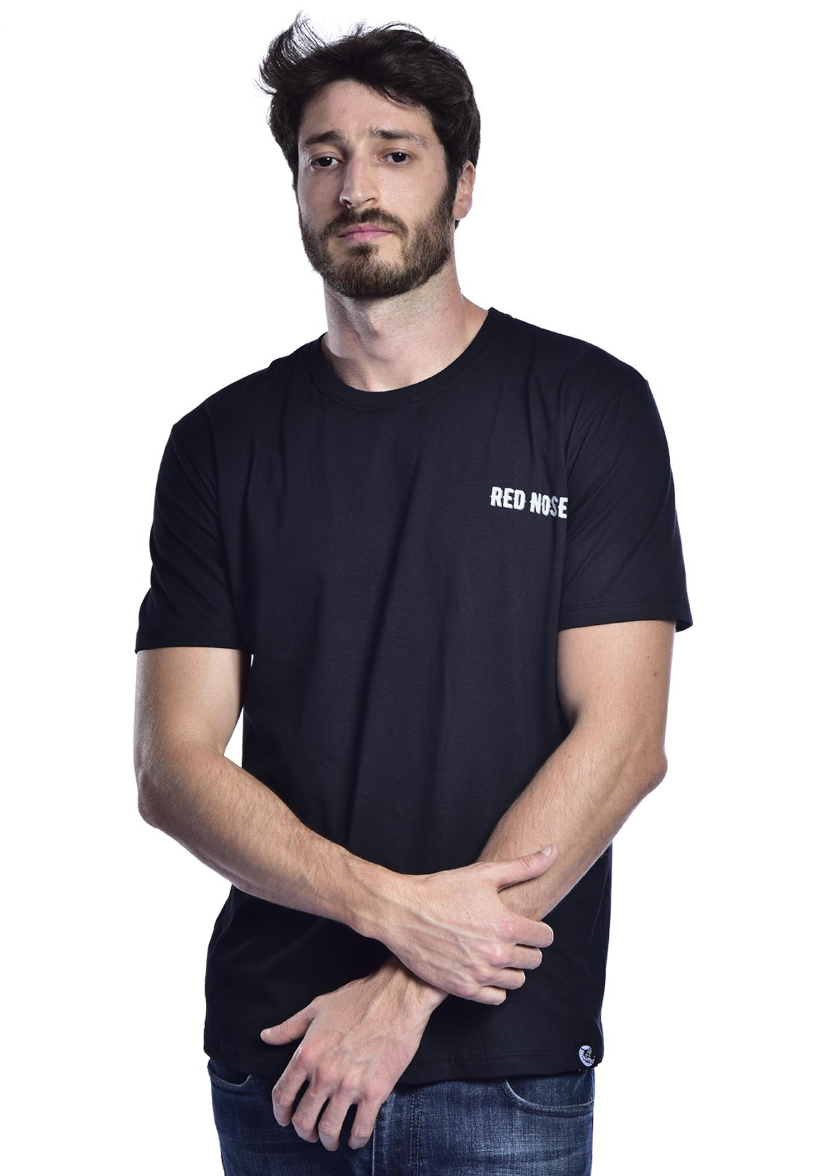 Camiseta Red Nose Caveira Surf - Preto P