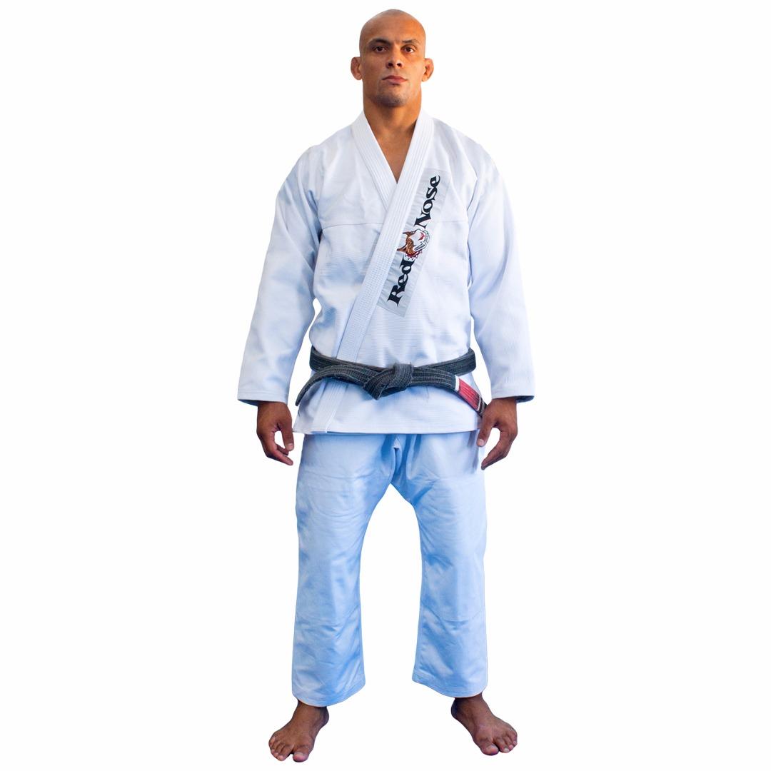 Kimono Jiu-Jitsu Red Nose Beginner Branco A0
