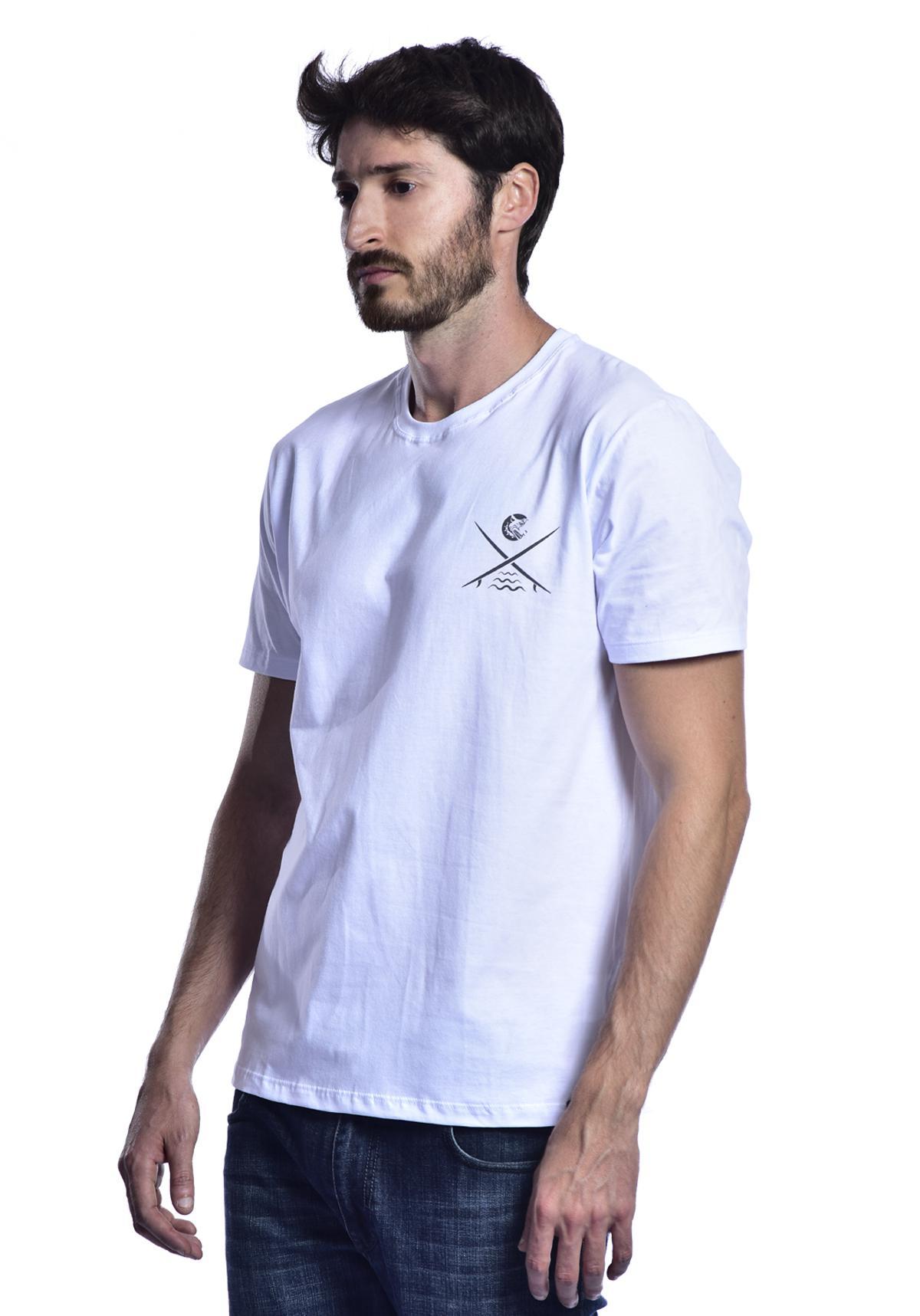 Camiseta Red Nose Surf Club  - Branco P