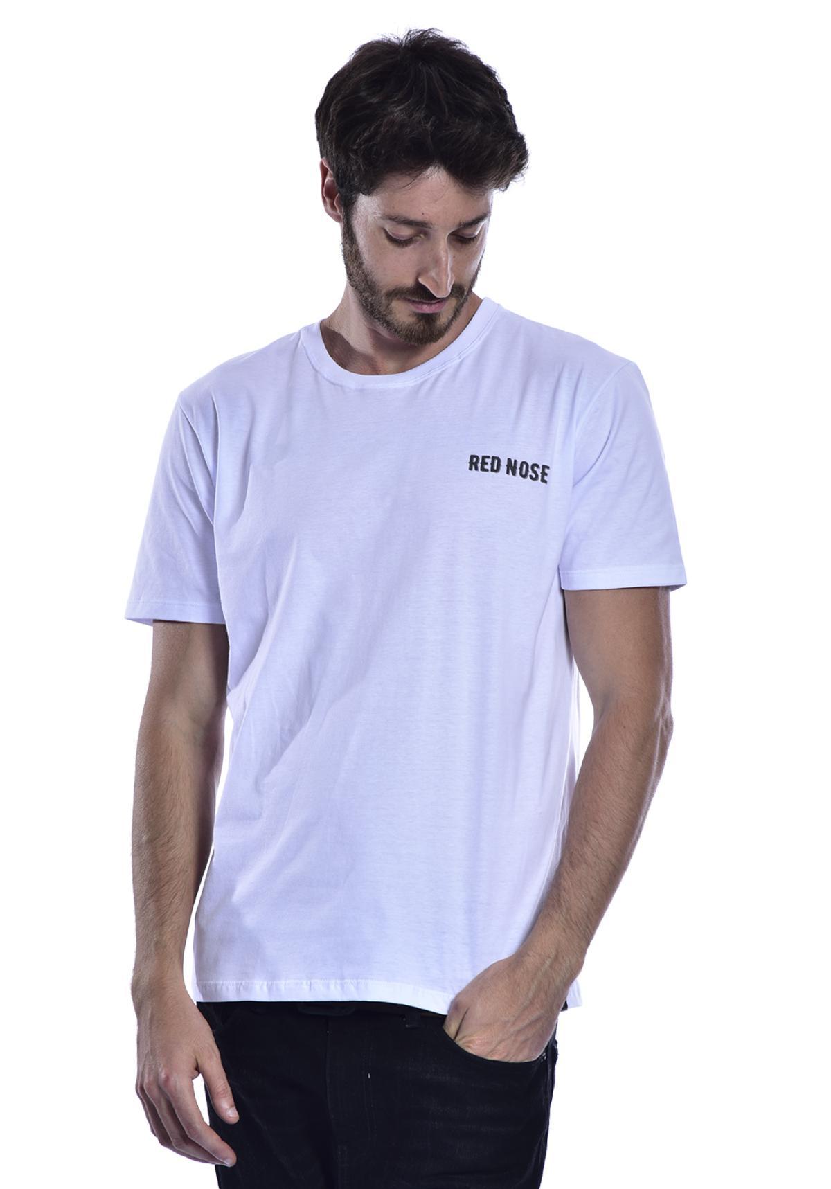 Camiseta Red Nose Caveira Surf - Branco P