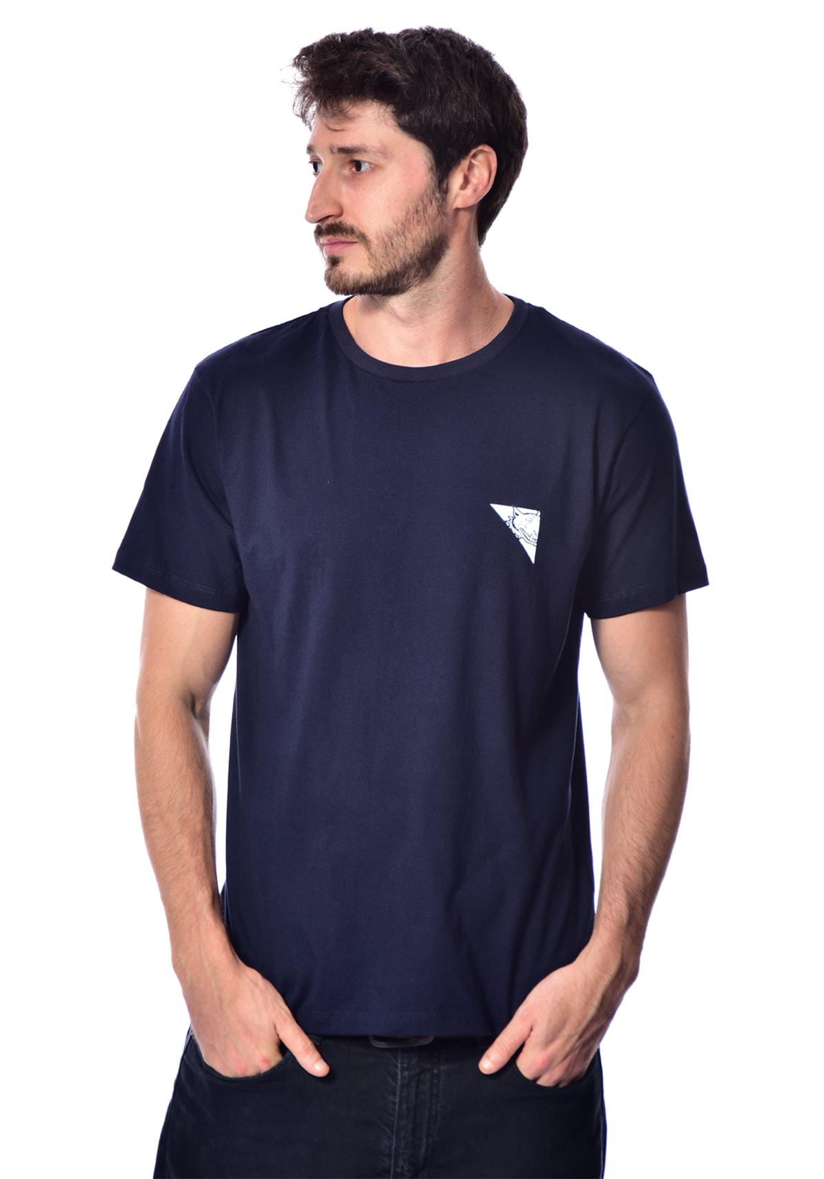 Camiseta Red Nose RN Quadrada - Azul P