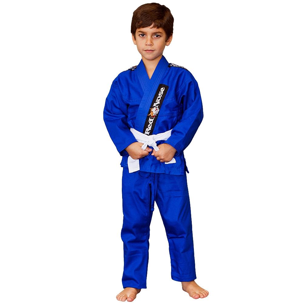 Kimono Infantil Jiu-Jitsu Red Nose Beginner Azul M3