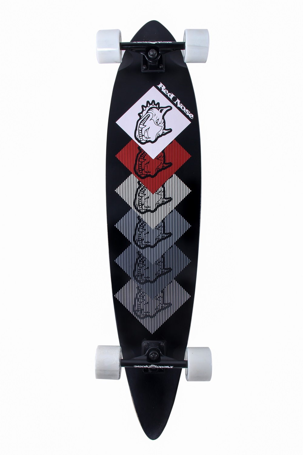 Skate Longboard Red Nose Dogs